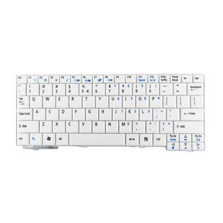 Whitenergy klawiatura do Acer Aspire One A110, A150, D150, D250, P531 (biała)