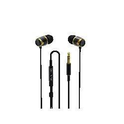 SoundMagic E10 Black-Gold (słuchawki dokanałowe)
