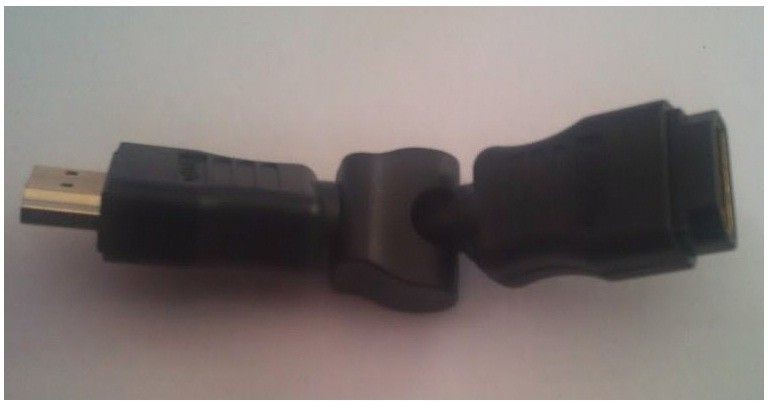 LogiLink adapter HDMI Am/Af (270 stopni)