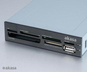 Akasa czytnik kart AK-ICR-07 6slot/USB port