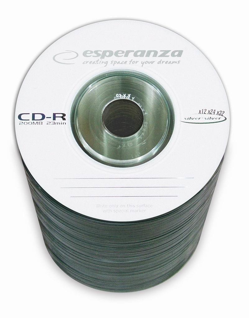 Esperanza mini CD-R 195MB 32x (szpindel, 100szt, etui)
