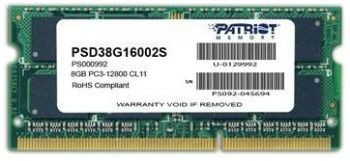 Patriot 8GB 1600MHz DDR3 Non-ECC SODIMM