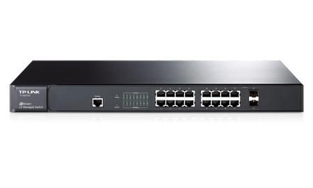 TP-Link TL-SG3216 JetStream 16-Port Gigabit L2 Managed Switch with 2 Combo SFP