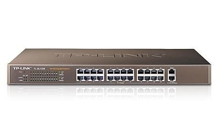 TP-Link TL-SL1226 24-Port 10/100Mbps + 2-Port Gigabit Switch