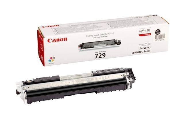 Canon toner black CRG-729BK (1200str)