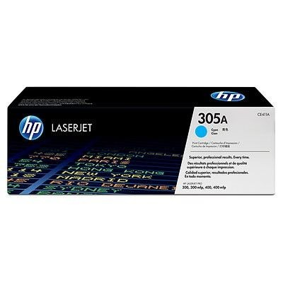 HP Toner HP 305A cyan | 2600str | Color LaserJet M351/M451/M375/M475