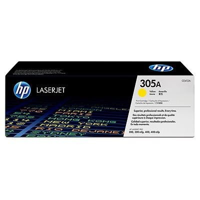 HP Toner HP 305A yellow | 2600str | Color LaserJet M351/M451/M375/M475