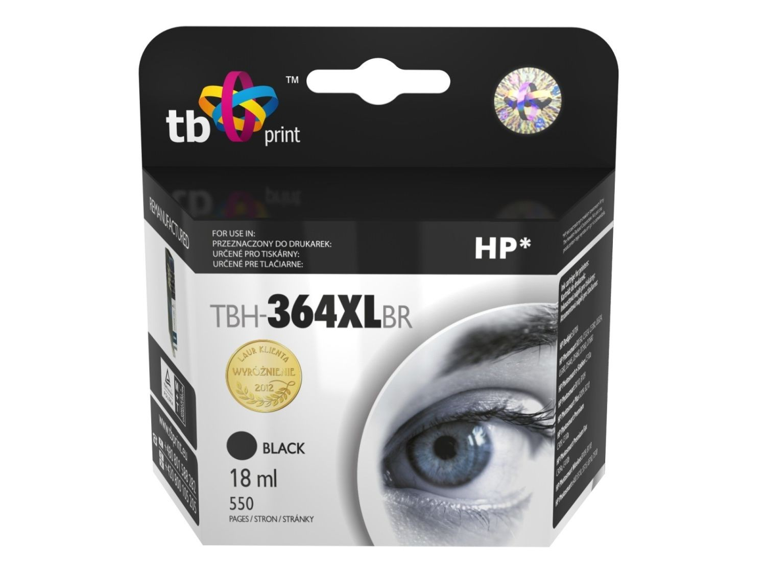 TB Print Tusz do HP PS B8550 TBH-364XLBR BK ref.