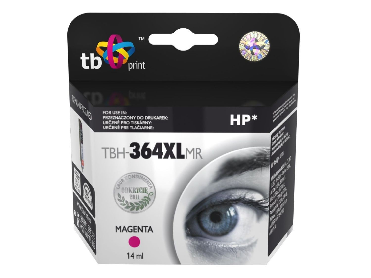 TB Print Tusz do HP PS B8550 TBH-364XLMR MA ref.