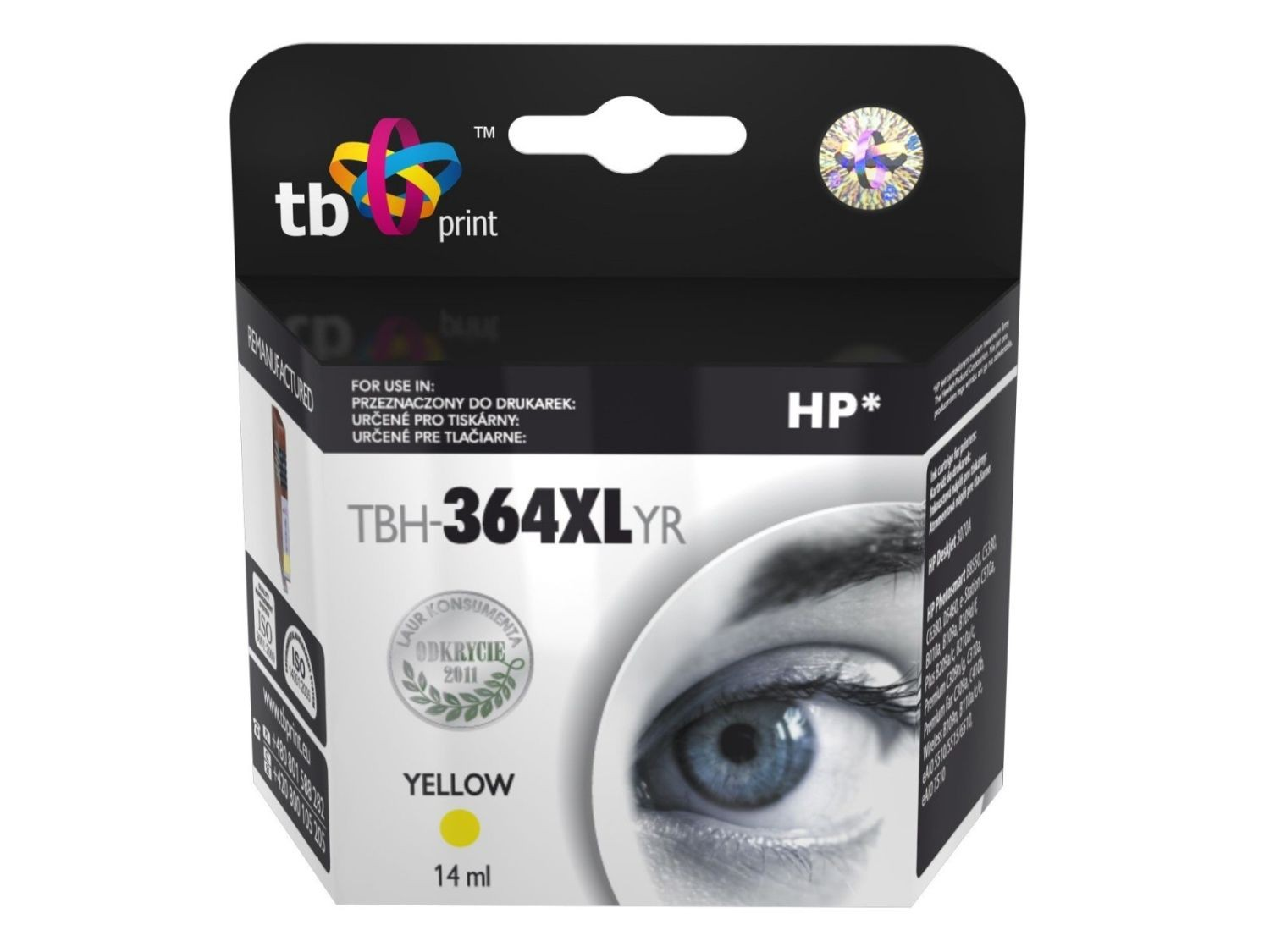 TB Print Tusz do HP PS B8550 TBH-364XLYR YE ref.