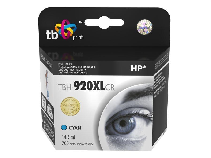 TB Print Tusz do HP OJ 6500 TBH-920XLCR CY ref.