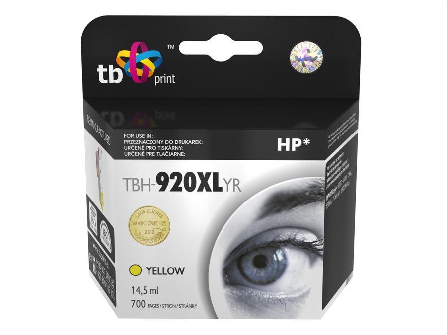TB Print Tusz do HP OJ 6500 TBH-920XLYR YE ref.