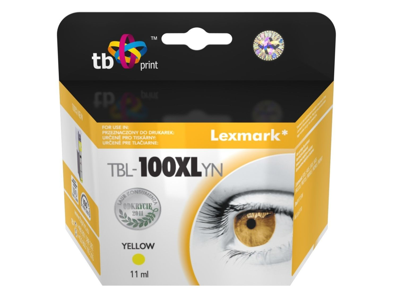 TB Print Tusz do Lexmark Pro205 TBL-100XLYN YE 100% nowy