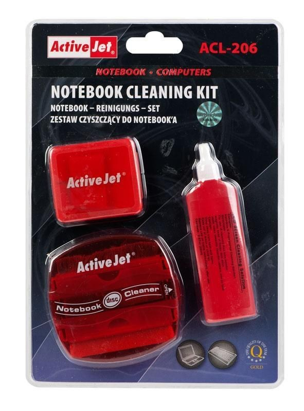 ActiveJet ACL-206 Zestaw czyszczący do notebooka 20ml