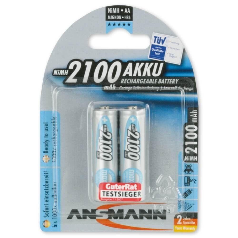 Ansmann akumulator maxe NiMH AA 2100mAh (2szt)