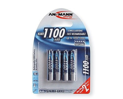 Ansmann akumulator NiMH AAA 1100mAh (4szt)