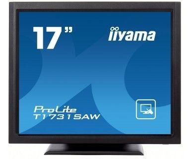 iiyama Monitor IIyama T1731SAW-B1 17inch, TN touchscreen, 1024x768, DVI, głośniki