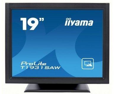 iiyama Monitor IIyama T1931SAW-B1 19inch, TN touchscreen, SXGA, DVI, głośniki