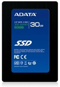 A-Data SSD S396S 30GB (2.5'', SATAII, MLC, 280/250MB/s)