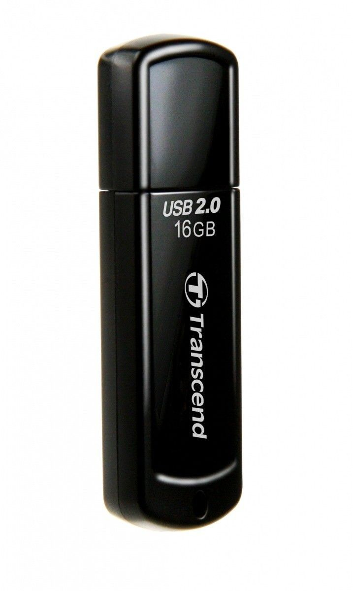 Transcend Jetflash 350 16GB (czarny)