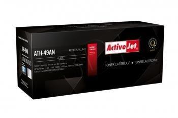 ActiveJet Toner ActiveJet ATH-49AN | Czarny | 2500 pp | HP Q5949A (49A), Canon CRG-708