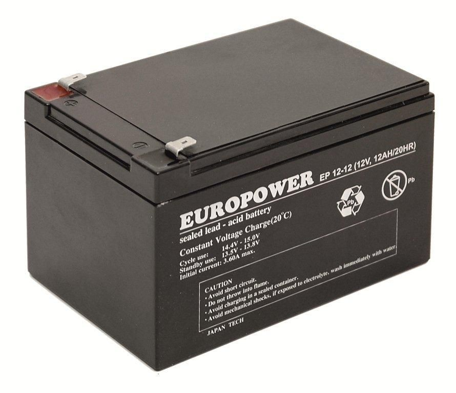 Ever Akumulator Europower do UPS 12V12Ah (EP 12-12)