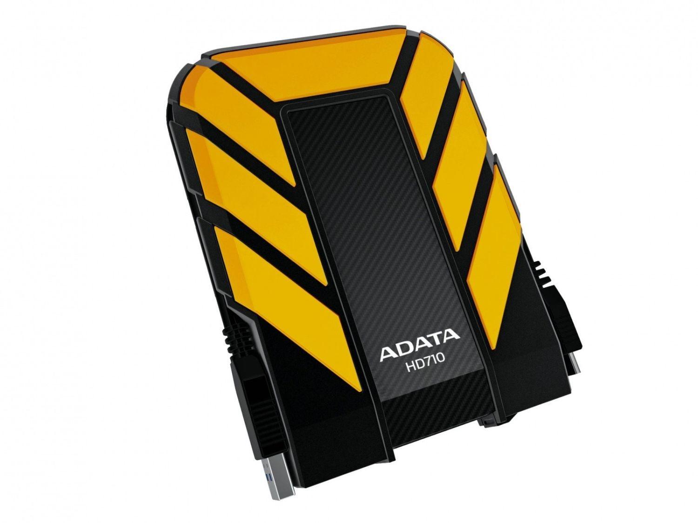 A-Data Dysk zewnętrzny HD710 1TB 2.5'' HDD USB 3.0 Żółty water/shock proof