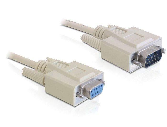 DeLOCK kabel transmisyjny 9F/9M 5m