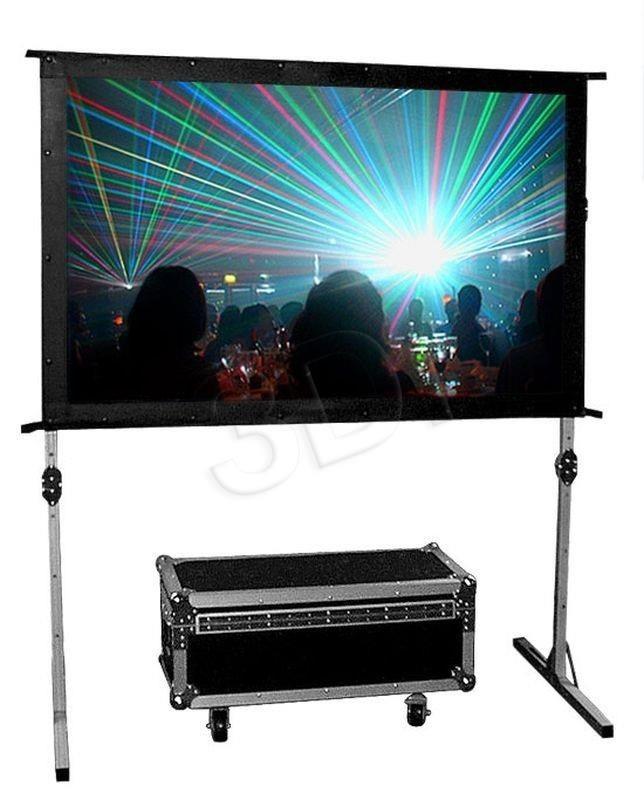 AVTek Avtek ekran projekcyjny FOLD 180 (ramowy rozwijany ręcznie 203 2x114 3cm)