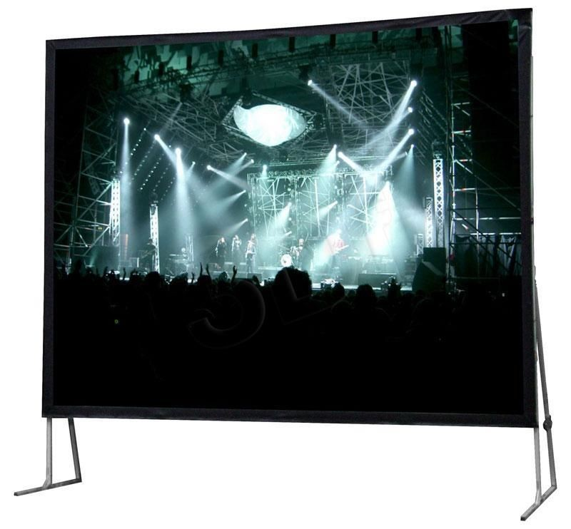 AVTek Ekran ramowy FOLD 500 4:3 (508 x 381), w zestawie powierzchnia przednia