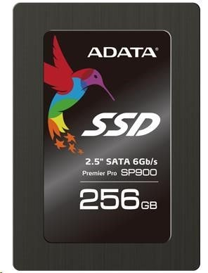 A-Data SSD SP900 256GB 2,5'' SATA3 read/write; 545/535MBs 23K/91K IOPS