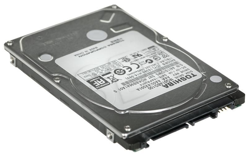 Toshiba Dysk twardy Toshiba, 2.5'', 1TB, SATA/300, 5400RPM, 8MB cache
