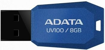 A-Data Adata pamięć USB UV100 8GB USB 2.0 Niebieski