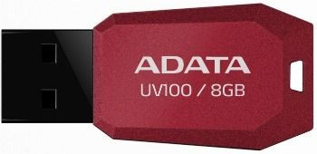 A-Data Adata pamięć USB UV100 8GB USB 2.0 Czerwony