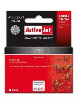 ActiveJet Tusz ActiveJet ACC-526GN | Grey | 10 ml | Canon CLI-526G