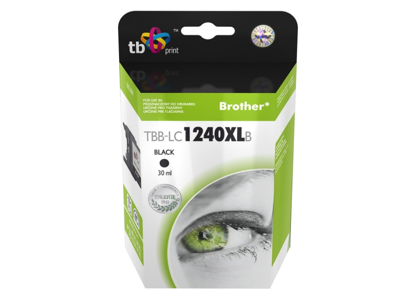 TB Print Tusz do Brother MFC-J6510DW LC1240XL TBB-LC1240XLB BK