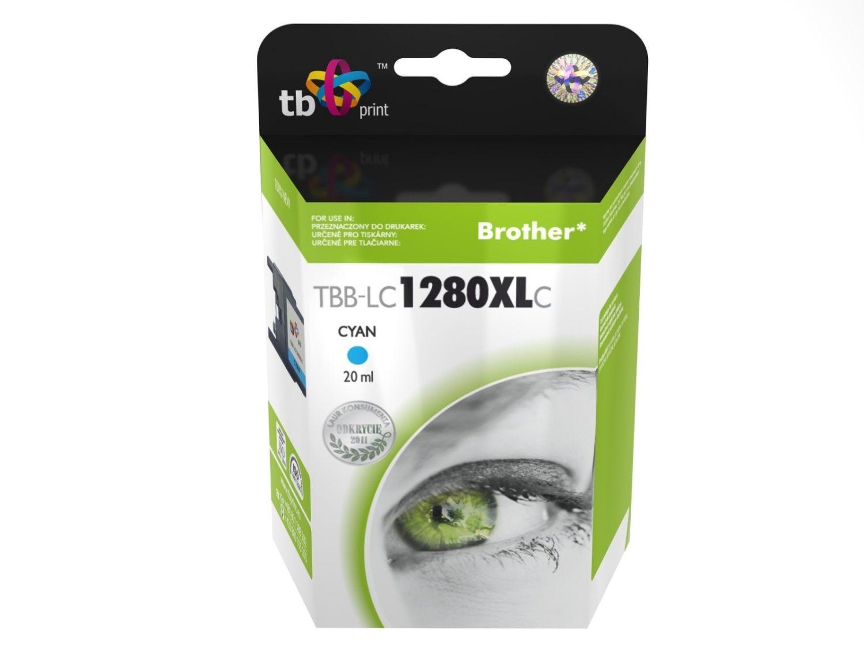 TB Print Tusz do Brother LC1280XL TBB-LC1280XLC CY