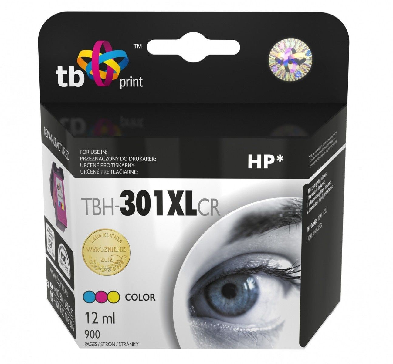 TB Print Tusz do HP DJ1050/2050 XL TBH-301XLCR Kolor ref.
