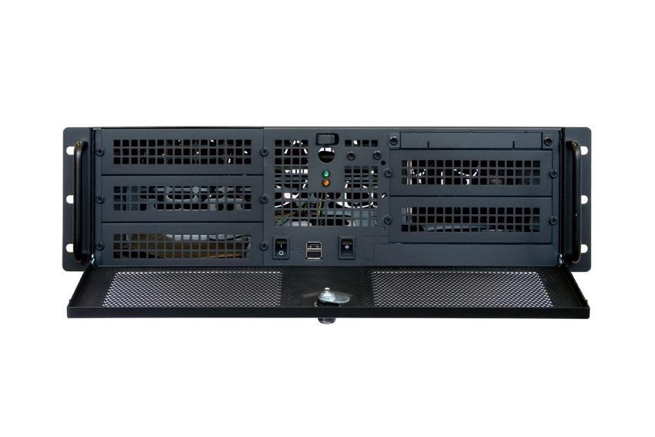 Chieftec obudowa IPC serii 3U - UNC-310RS-B, 400W PSU (PSF-400A)