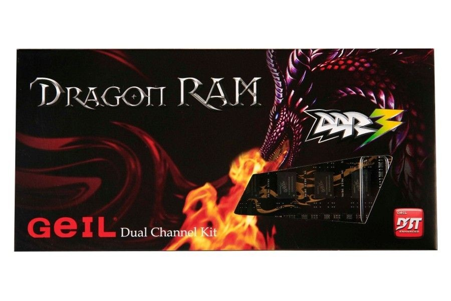 Geil Pamięć DDR3 8GB (2x4GB) 1600MHZ DUAL DRAGON RAM CL.11 BOX