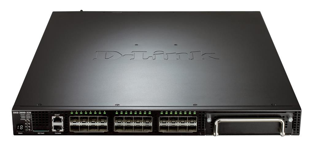 D-Link DXS-3600-32S/SI 24-ports 10Gigabit SFP+ Layer 3 Ethernet Data Center Switch