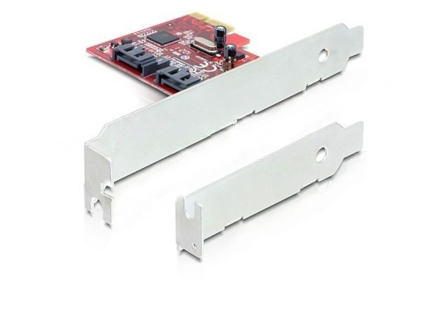 DeLOCK karta PCI Express -> SATA III Internal 6Gb/s x2