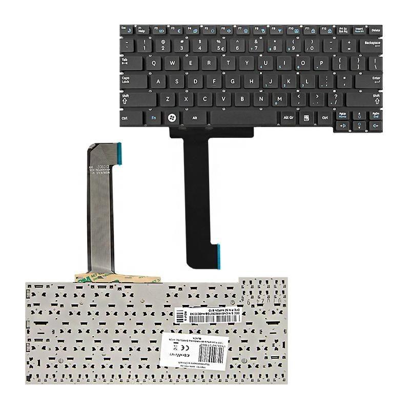Qoltec Klawiatura do laptopa Samsung X128 CZARNA