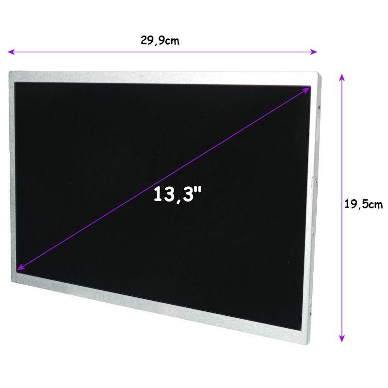 Qoltec matryca LCD 13,3'' (CCFL, 1280x800, glossy, 30 pin)