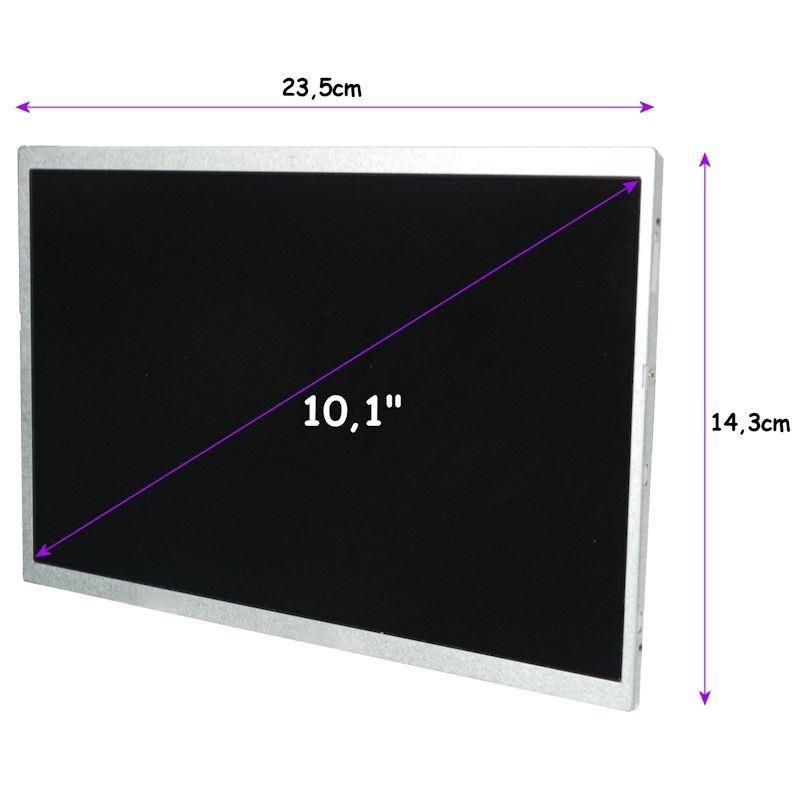 Qoltec matryca LED 10,1'' (1024x600, glossy, 40 pin)