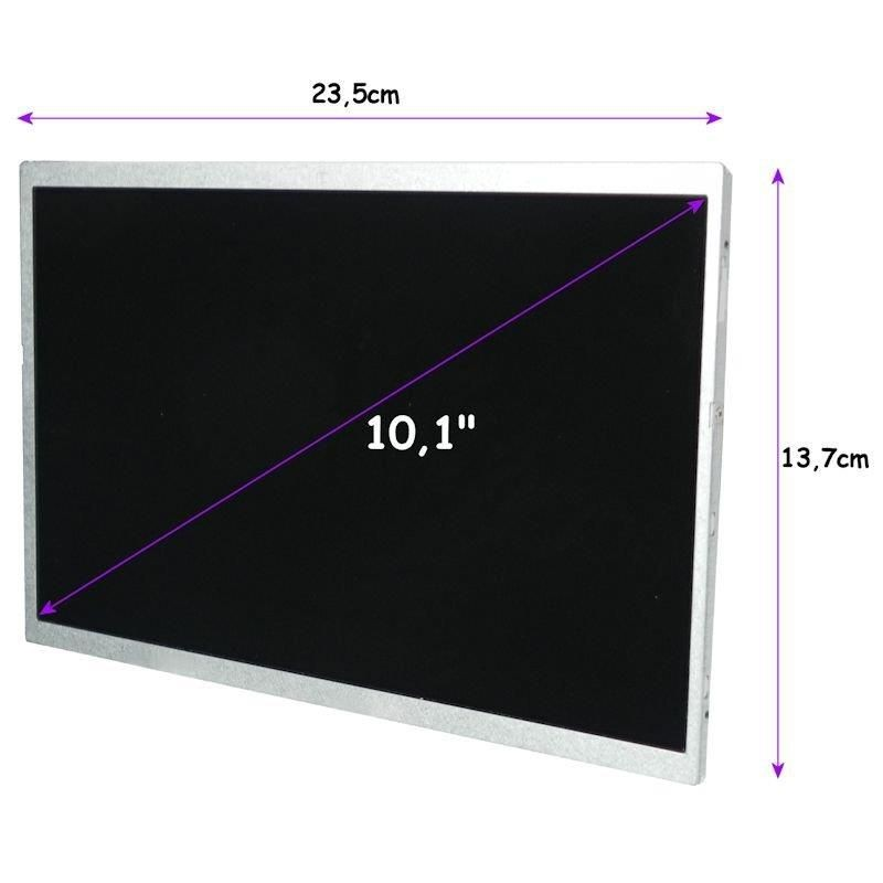 Qoltec matryca LED 10,1'' (1024x600, glossy, slim, 40 pin)
