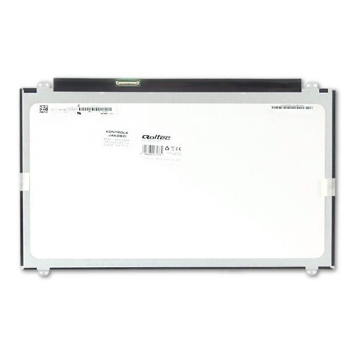 Qoltec matryca LED 15,6'' (1366x768, glossy, slim, 40 pin)