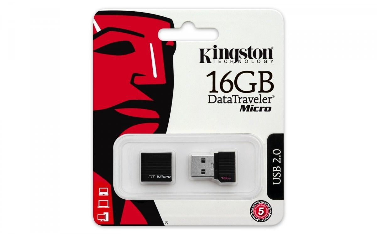 Kingston Pamięć USB 16GB DataTraveler Micro USB 2.0 /KINGSTON