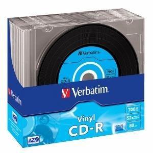 Verbatim CD-R 700MB x48 SUPER AZO VINYL DISC (slim, 10szt)