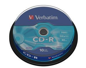 Verbatim CD-R [ cake box 10 | 700MB | 52x | DataLife ]